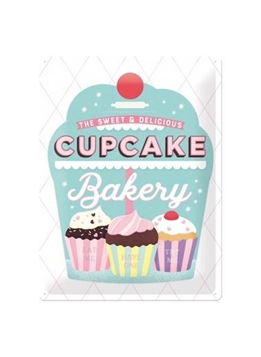 Nostalgic Art Cupcake Bakery Metal Pano Renkli